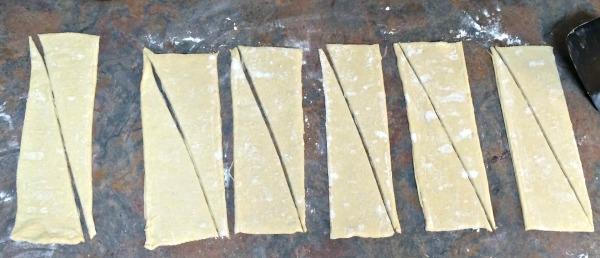 Peanut Butter Chocolate Croissants
