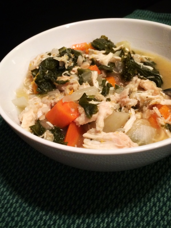Chicken Vegetable and Barley Stew