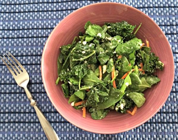 kale and feta salad